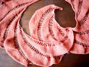 Sweet Eleanor scarf detail